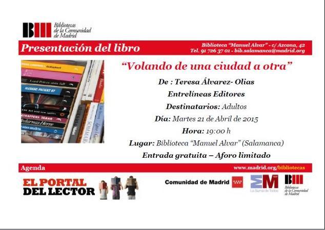 Presentación en Biblioteca de Madrid