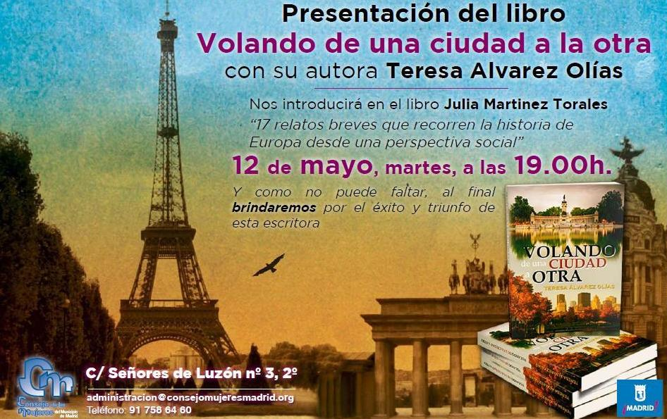 Presentación en Consejo Mujeres Madrid