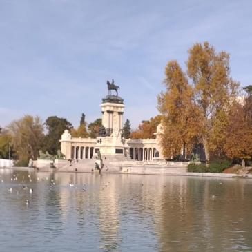 Estanque Grande del Buen Retiro con el Monumento a Alfonso XII. © Teresa Álvarez Olías